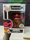 Funko Pop Figure Disney Muppets Funko Shop Exclusive Animal Flocked Rare 4000 LT