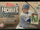 2020 TOPPS ARCHIVES SIGNATURE SERIES - ONE (1) HOBBY BOX