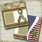 Military Man 2 Premade Scrapbook Pages EZ Layout 4878