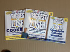 Lot Of 3 The Biggest Loser Books Weight Loss Program Cookbook Calorie Counter