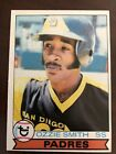 1979 Topps #116 Ozzie Smith ROOKIE Card Padres RC