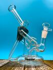 9 Recycler Glass Hookah Water Pipe Bong Bubbler Perfect Flow US Made