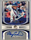 2004 SP Legendary Cuts Gary Carter Marked for the Hall Autograph Auto 48 50 HOF