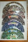 MICHAELS Rainbow Glass Beads Half Moon Boxes Various Colors Shapes Sizes