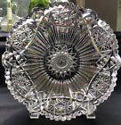 Pairpoint Clifton American Brilliant Cut Glass 8 Bowl c1900