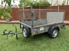 Ifor Williams P6e Gardener Mobilty Scooter Mesh Cage Ramp Quad Camping Trailer