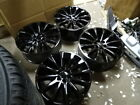 FORD EXPEDITION F150 PLATINUM LIMITED OEM FACTORY 22 WHEELS RIMS GLOSS BLACK