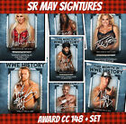 Topps Slam 20 Award + Set 1+6 Cards May Signatures This Month In WWE History
