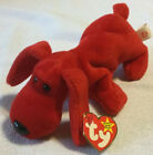 "Ty Beanie Baby, ROVER the Red Dog, 6 1/2""; retired; 1995"