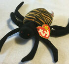 "TY Beanie Baby SPINNER the Spider; 5""; 1996"