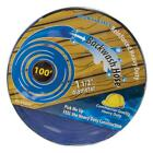 100 ft Commercial Backwash Hose for Swimming Pools 15 inch Web Reinforced Blue