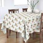 Tablecloth Indian Tribal Aztec Animals Southwest Nursery Native Cotton Sateen