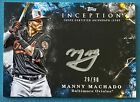 2018 Topps Inception Baseball Cards 11