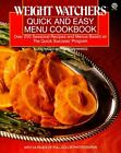 Quick and Easy Menu Cookbook by Weight Watchers