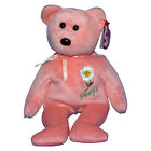 Ty Beanie Baby Georgia Cherokee Rose - MWMT (Flower Bear Show Exclusive)