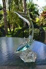 FLAWLESS Exquisite MURANO Italy Art Glass DOLPHIN FISH SHARK Sculpture