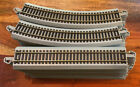 HO Scale Bachmann Nickel Silver Grey E Z Track 30 Pieces Used