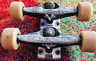 Vintage Venture Skateboard Trucks W Mini Logo Wheels Has Visual Wear Scuffs