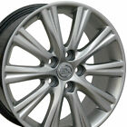 17 Rims Fit Lexus ES350 Style Hyper Silver Wheels 74191 SET
