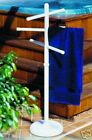Outdoor portable towel holder rack pool patio spa yard Three color choices