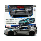 Maisto 124 2017 Corvette GT Grand Sport Assembly DIY Car Diecast MODEL KITS NIB