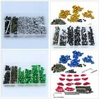 Kit For Kawasaki Ninja ZX-6R ZX7R ZX9R ZX-10R ZX12R Complete Fairing Bolt Screws