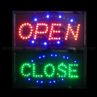 Bright Led Open Sign Neon Light Animated Motion Business Ad Board Switch