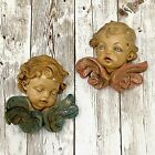 Fontanini Depose Italy Spider Mark 67 68 Cherub Angel Wing Wall Hanging Decor