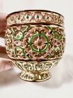 FANTASTIC Zsolnay reticulated pierced faience art pottery vase antique