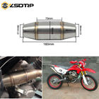 36mm I.D Exhaust Pipe Muffler Expansion DB Killer Chamber For CRF RMZ DRZ