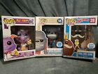 Funko Exclusive Pop Lot Wolfgang, King Ding Dong & Disney Epcot Chef Figment