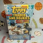 2002 Topps Traded And Rookies Baseball Hobby Box W Auto or Relic Card Per Box +