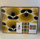 Orla Kiely Set Of 4 Placemats 70s Oval Flower Design NEW