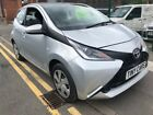 LARGER PHOTOS: TOYOTA  AYGO  X-PLAY VVT-I SILVER 2017 67 REG...NOW SOLD...