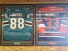 Framed Brent Burns San Jose Sharks Autographed Teal Adidas Authentic Jersey