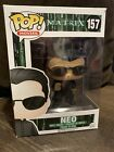 Funko Pop Matrix Neo 157 VAULTED RARE Comes With Pop Protector