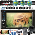 6.2'' HD Digital Touch Screen 2din Auto Radio Mirror Link Car Audio Video Player