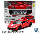 Maisto 124 Ferrari 488 Pista Assembly DIY Racing Car Diecast MODEL KITS IN BOX