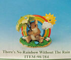 CHARMING TAILS FITZ  FLOYD 89 143 THERES NO RAINBOW WITHOUT THE RAIN Art Pin