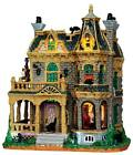 Lemax Spooky Town 45662 Withered Mansion Animated Halloween Village IN box
