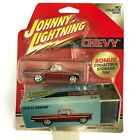Johnny Lightning 1959 59 Chevrolet Chevy El Camino Car Red +Tin Die Cast 1 64