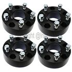 4 2 Wheel Spacers Black Hubcentric Fits Jeep Grand Cherokee Wrangler JL JLU
