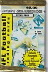 2000 Pacific Private Stock Football pack - 5 cards - Autographs Numbered Rookies