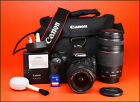 Canon EOS 550D DSLR Camera Dual Lens Kit with 18-55mm III & EF 75-300mm III Lens