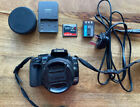 Canon EOS 400D DSLR Camera - Black (Kit with EF-S 18-55mm + Wide Angle Adaptor