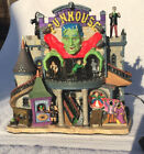 Lemax Spooky Town FUNHOUSE 65344 Halloween Village Frankenstein Retired2013 RARE