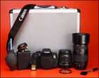 Canon 750D DSLR Dual Lens Kit + 18-55mm IS II & Tamron 70-300mm - WiFi - NFC