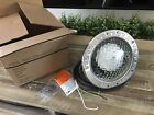 Pentair Pool Light w glass lens new gasket stainless trim ring bulb READ
