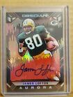 James Lofton 2018 Obsidian Auto Autograph card #'d 2 5 Stanford Green Bay HOF