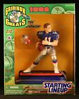 Starting Lineup Drew Bledsoe / New England Patriots 1998 NFL Gridiron Greats Del